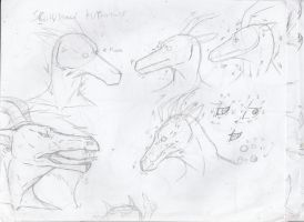 Scally/dragon anthro head tutorial attempt #1 by ChemicallyAbsolute