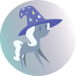 Trixie Sprite With Hat by LiraCrown