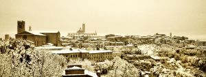 Snow on Siena 3 by vaporarium