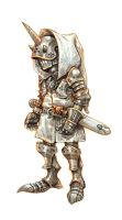 Small knight by eoghankerrigan