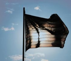 Flag Silhouette by BAGilligan