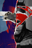 Batman V Superman Torn Poster by MessyPandas