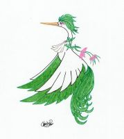 Fakemon: Floraliue by crmsndragonwngs