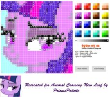 Twilight Sparkle  Animal Crossing New Leaf Pattern by PrismsPalette