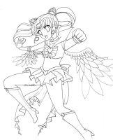 sailor chibimoon color me baby by frighteningdeceit