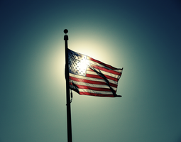 American Flag V2.0 by rebeccastrang