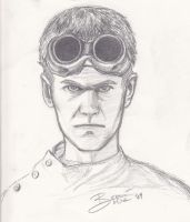 Dr Horrible Sketch by BlackBunnyRising