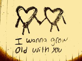 All i wanna do is grow old with  you by glitterqueen213