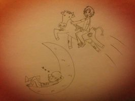 The Smosh Jumped Over the Moon by EsperTortuga