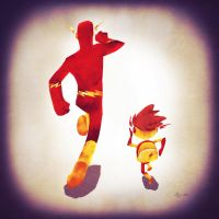 Fastest dad alive by Andry-Shango