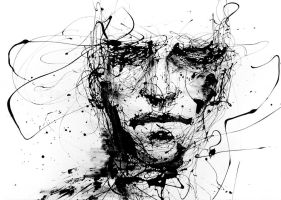 lines hold the memories by agnes-cecile