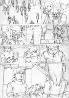 comic page rough 3 by mad-jojo