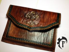Yggdrasil Ipad case by Feral-Workshop