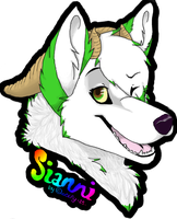Badge sianni by wolfy-13