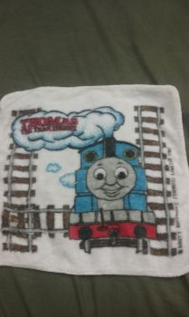Thomas The Tank Engine washcloth by Duel-Express