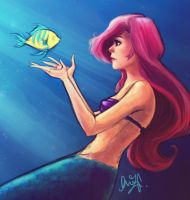 The Little Mermaid by cherlye