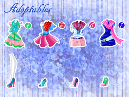 Adoptables  Cafe style (CLOSE) by Sulexilayho