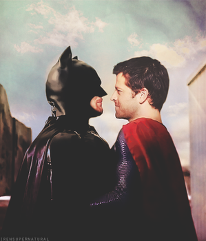 Batman vs Superman by IrenSupernatural