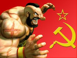 Zangief wallpaper by BadWolf42