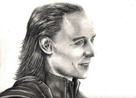 Loki 's Drawing by amerakat