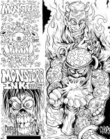 The Lost Art Pad Page by MonsterInk