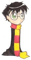 HP Watercolors- Harry by gryffindor-girl