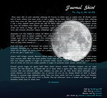 Journal Skin: Moondown by DeviBrigard