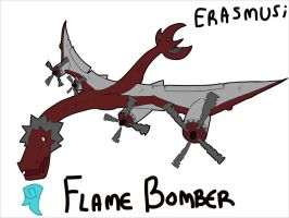 Flame Bomber Erasmus by Wakelord
