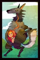 Riding hood wolf by PickledAlice