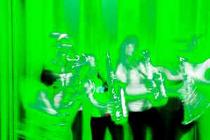 Green Saxes by Golly-Gosh