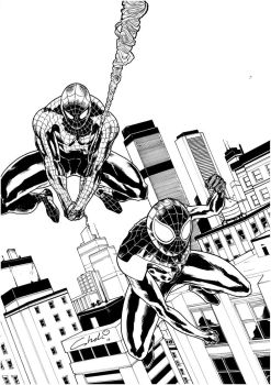 SPIDER MEN by robertcheli