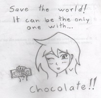 SAVE THE WORLD by crocrus