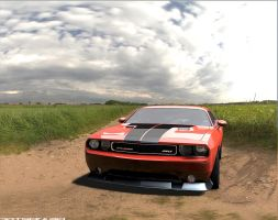 The Dodge Challenger SRT8 392-2 by Artsoni3D