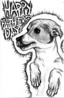 Fathers Day Dog by mymusicaladdiction