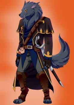 Thendor Worgen by Thanysa