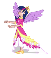 Princess Twilight Sparkle by Trinityinyang