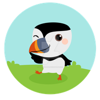 Little Puffin by supperfrogg