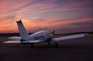 Piper at twilight by 2air