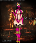 Mileena MK9 by CrazyAndy2000