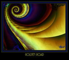 Golden Road by Smudgeproof