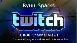 Ryuu_Sparks 1,000 Views by SonofSpardaDante