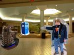 Doctor Who-The Dalek in the Mall (very WIP) by dhbraley
