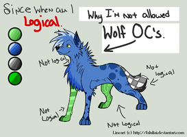 ++Not allowed wolf OCs++ by m0thwings