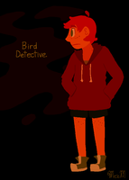 Bird Detective. by MexicanManatee