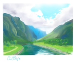 Mountains by k7vin