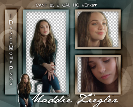 //Pack png Maddie Ziegler by iDanceMomsPngs