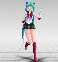 Sailor Miku MMD download by Reon046