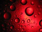 Red Bubbles by Adaera
