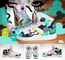 Octo Sneaker by Bobsmade