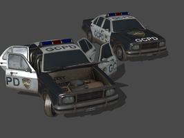 BAK - GCPD POLICE CAR by Oo-FiL-oO